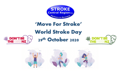 'Move For Stroke'              World Stroke Day 29th October 2020